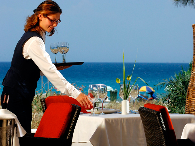 Atlantica Princess Hotel - Outdoor Restaurant