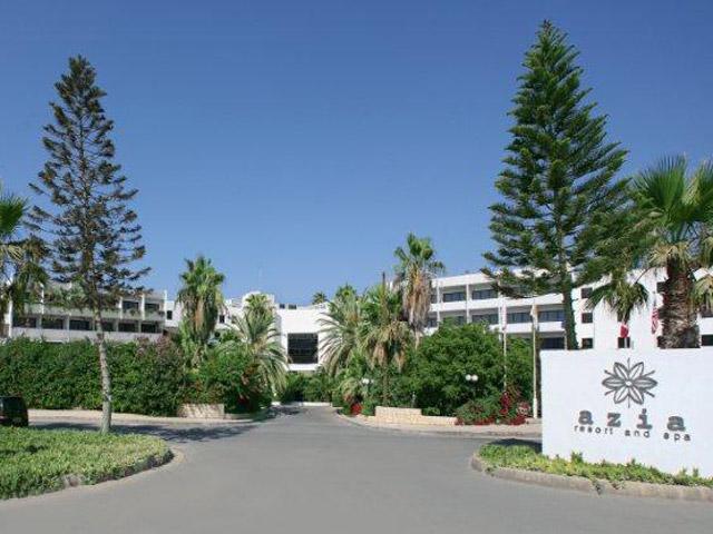 Azia Resort & Spa - Entrance Exterior View