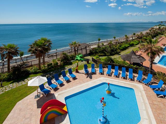 Gran Hotel Elba Estepona & Thalasso Spa - Swimming Pool Panoramic View