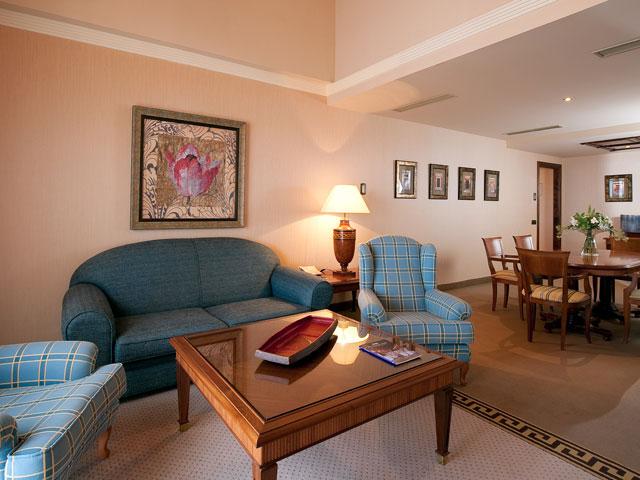 Gran Hotel Elba Estepona & Thalasso Spa - Living Room