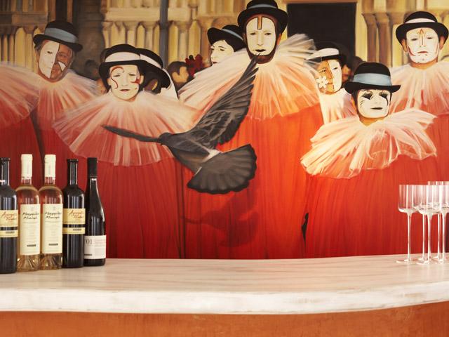 Rocabella Art Hotel & Spa Mykonos - Bar area
