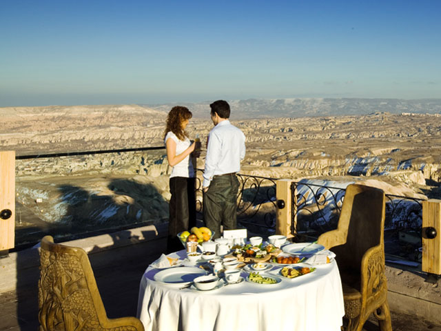 Cappadocia Cave Resort & Spa - Restaurant Exterior View