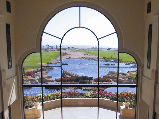 La Residence Des Cascades Resort - Lobby view