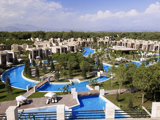 Gloria Serenity Resort - Exterior View Pool Area