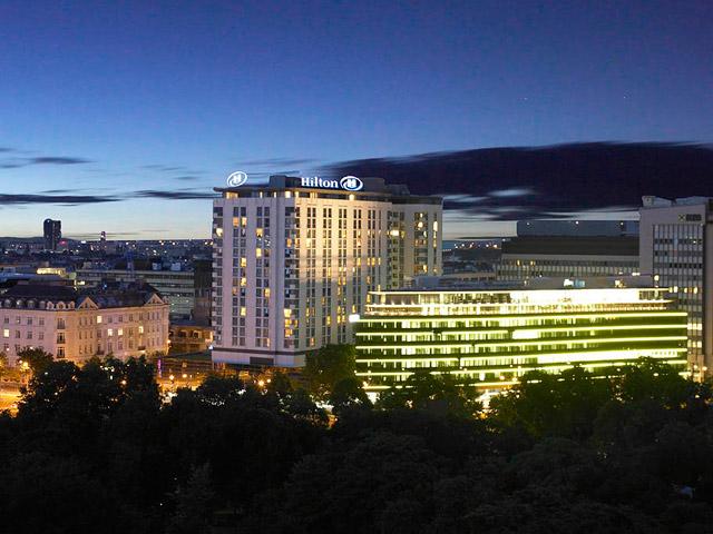 Hilton Vienna Hotel - Exterior View
