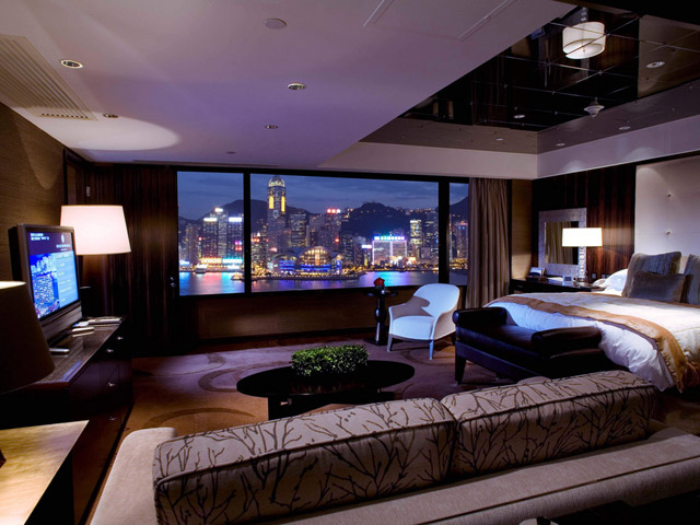 Intercontinental Hong Kong - CEO Suite-Bedroom