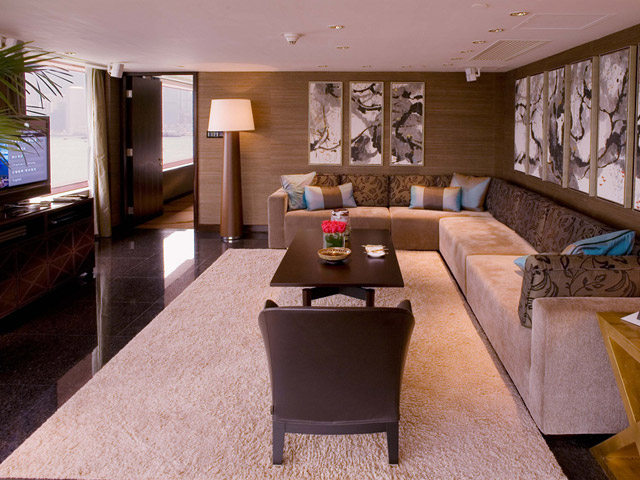 Intercontinental Hong Kong - CEO Suite-Living Room