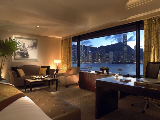 Intercontinental Hong Kong - Deluxe Junior Suite