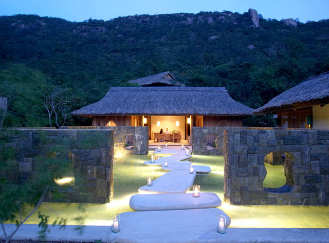 Six Senses Ninh Van Bay - Spa reception