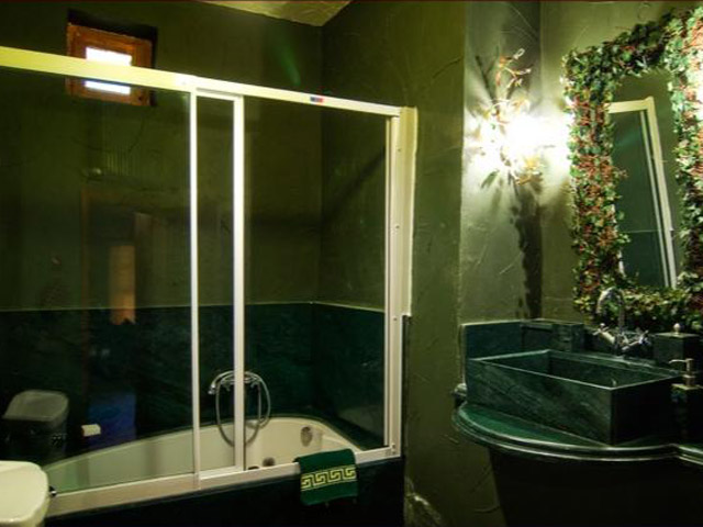 Sacred House - Deep Forest bathroom