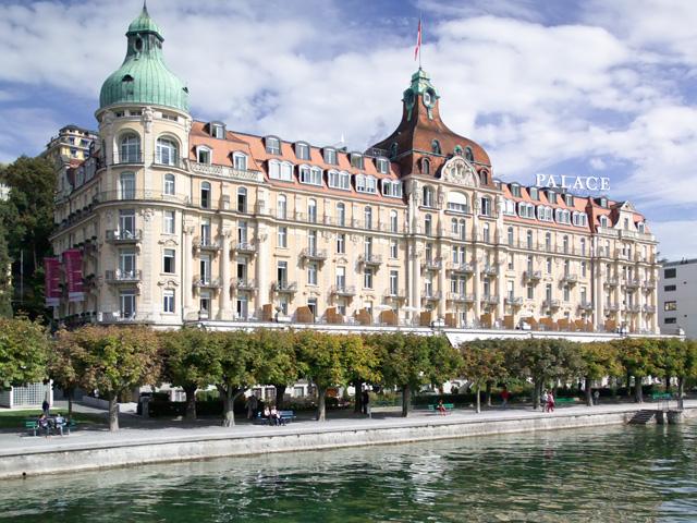 Palace Luzern - Exterior view