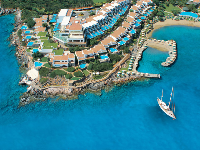 Elounda Peninsula All Suite Hotel - Aerial View