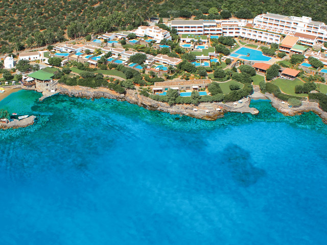 Elounda Mare Hotel - Relais & Chateaux - Aerial View