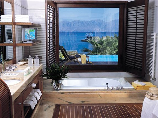 Elounda Beach Premium & Sports Club - Island Suite Bathroom