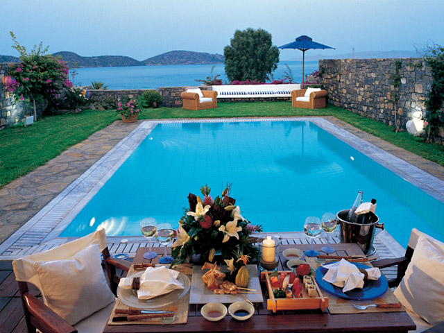 Elounda Beach Exclusive  & Platinum Club - Elounda Beach Exclusive Club  Island Villas Pool Area