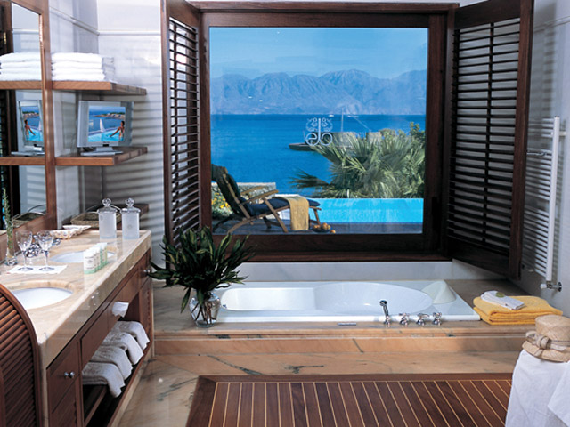 Elounda Beach Exclusive  & Platinum Club - Elounda Beach Exclusive Club  Island Villas Bathroom