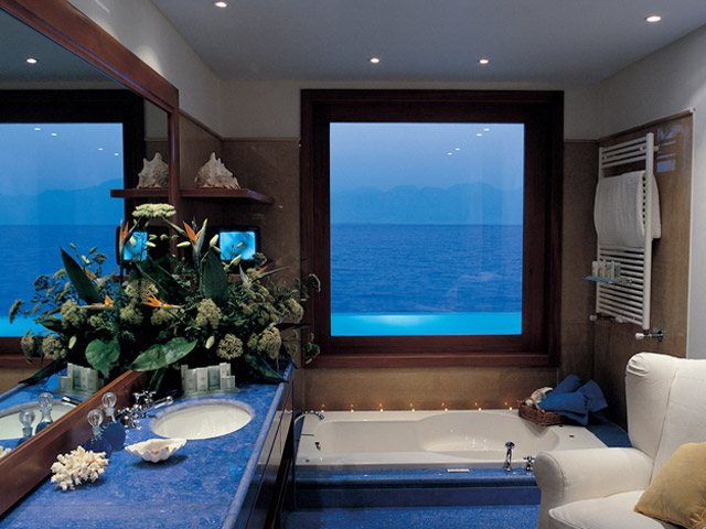 Elounda Beach Exclusive  & Platinum Club - Elounda Beach Exclusive Club  Presidential Suites Bathroom